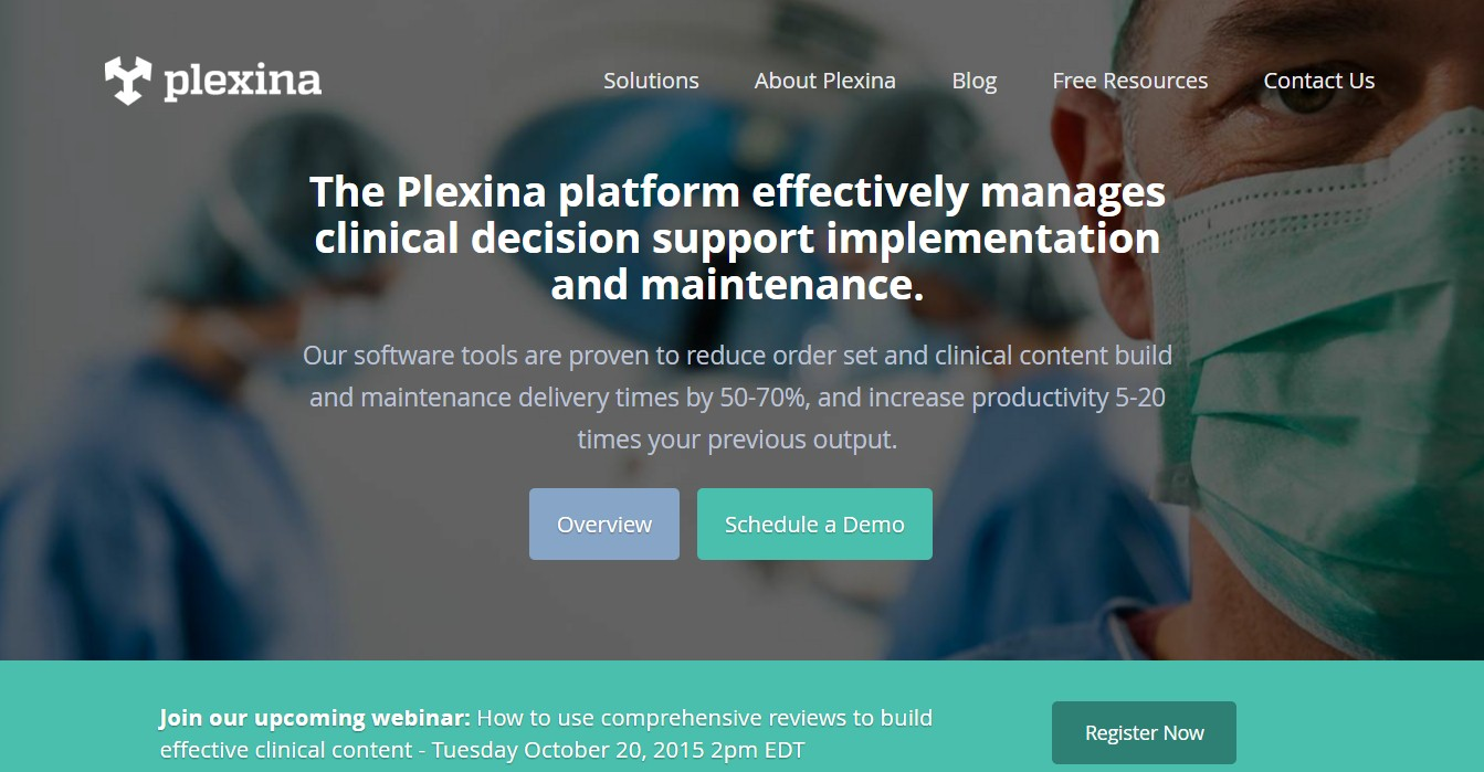 Plexina - a site developed by Nascenia